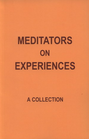 Meditators on Experiences